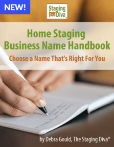 Home staging business name handbook