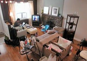 home staging tips for new parents