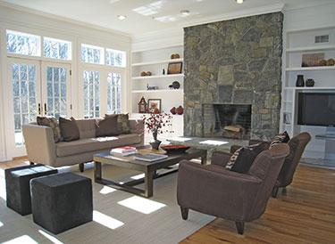 Atwell Staged Family Room