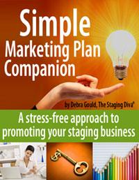 Staging Diva Simple Marketing Plan Cover