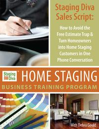 home staging sales script