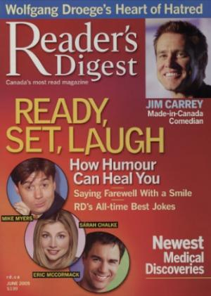 Debra Gould in Readers Digest