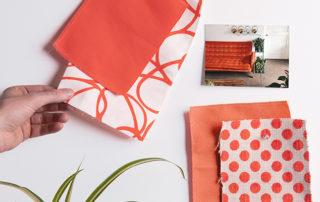coral in home staging