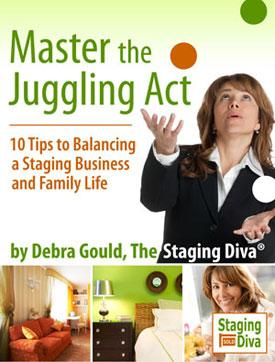 Juggling Home Staging and Family