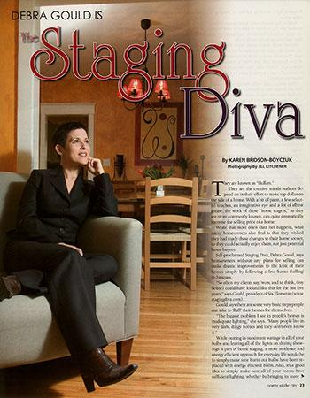 Debra Center City Magazine