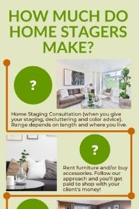 How much do home stagers make?