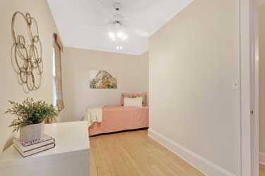 Kids Bedroom after staging Susan Atwell