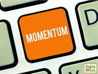 home staging business momentum
